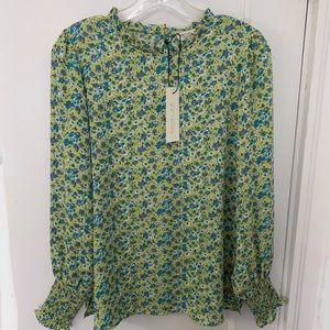 Rachel Zoe floral blouse
